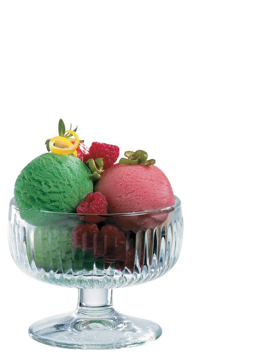Coupe à dessert transparente verre 23 cl Ø 10 cm Tahiti La Rochere