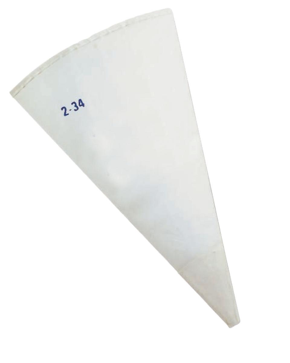 Poche conique blanc 45 cm Thermohauser