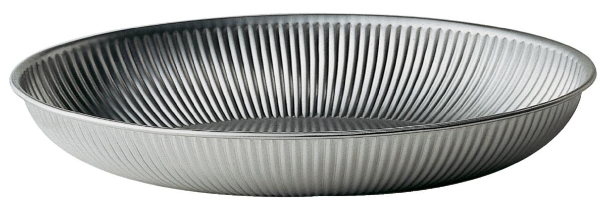 Corbeille ovale gris 21,50x31 cm 4 cm Degrenne