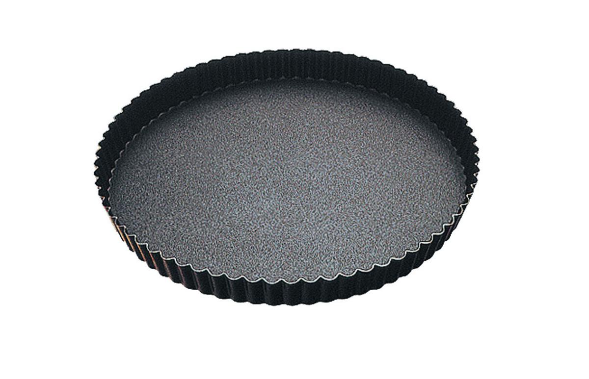 Tourtière acier Avec revêtement anti adhésif Ø 32 cm Gobel
