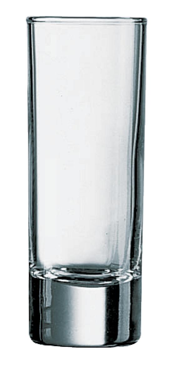 Shooter rond transparent verre 6 cl Ø 3,80 cm Islande Arcoroc