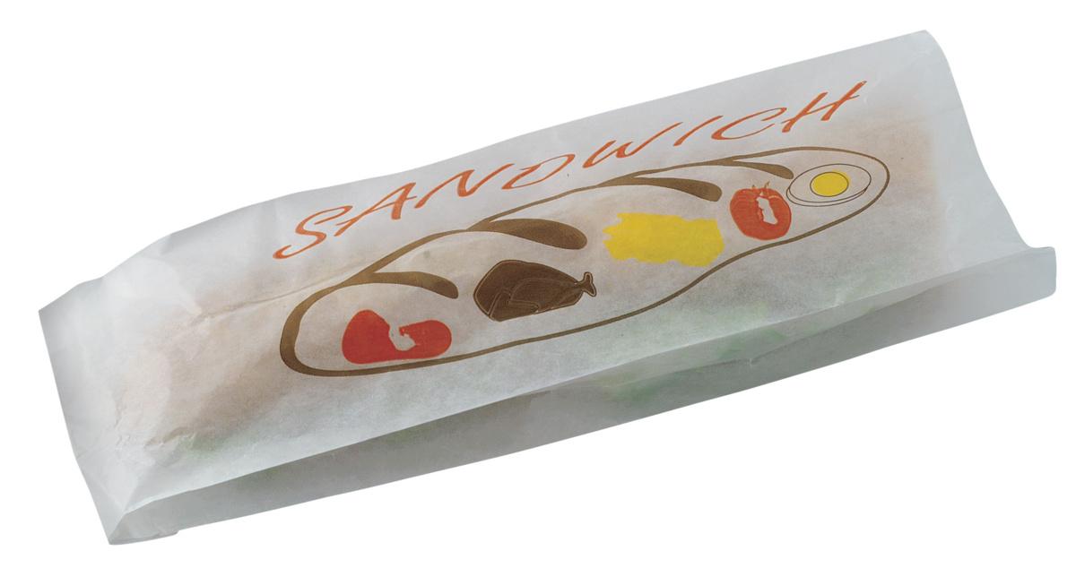 Sac sandwich blanc 15x40 cm (500 pièces)