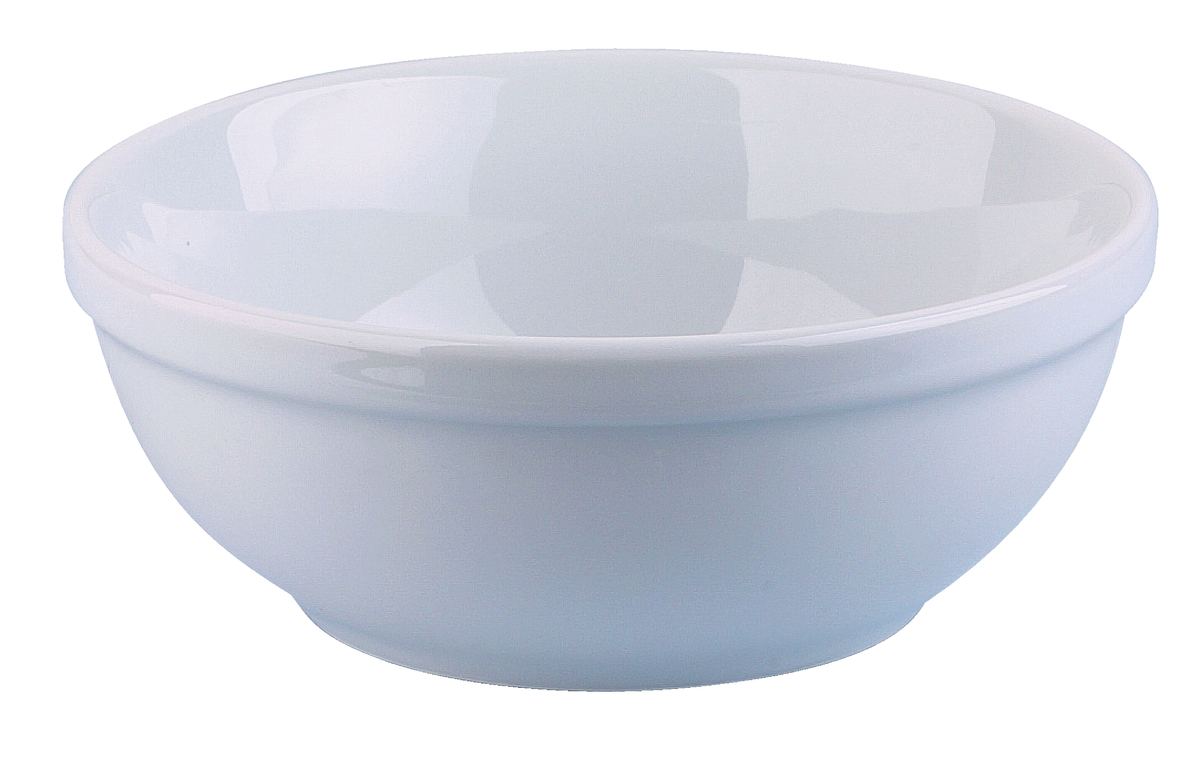 Bol rond blanc porcelaine 50 cl Ø 14 cm Ameryka