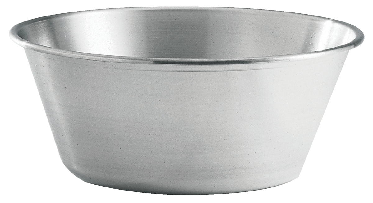 Bassine à fond plat inox 11,50 l De Buyer