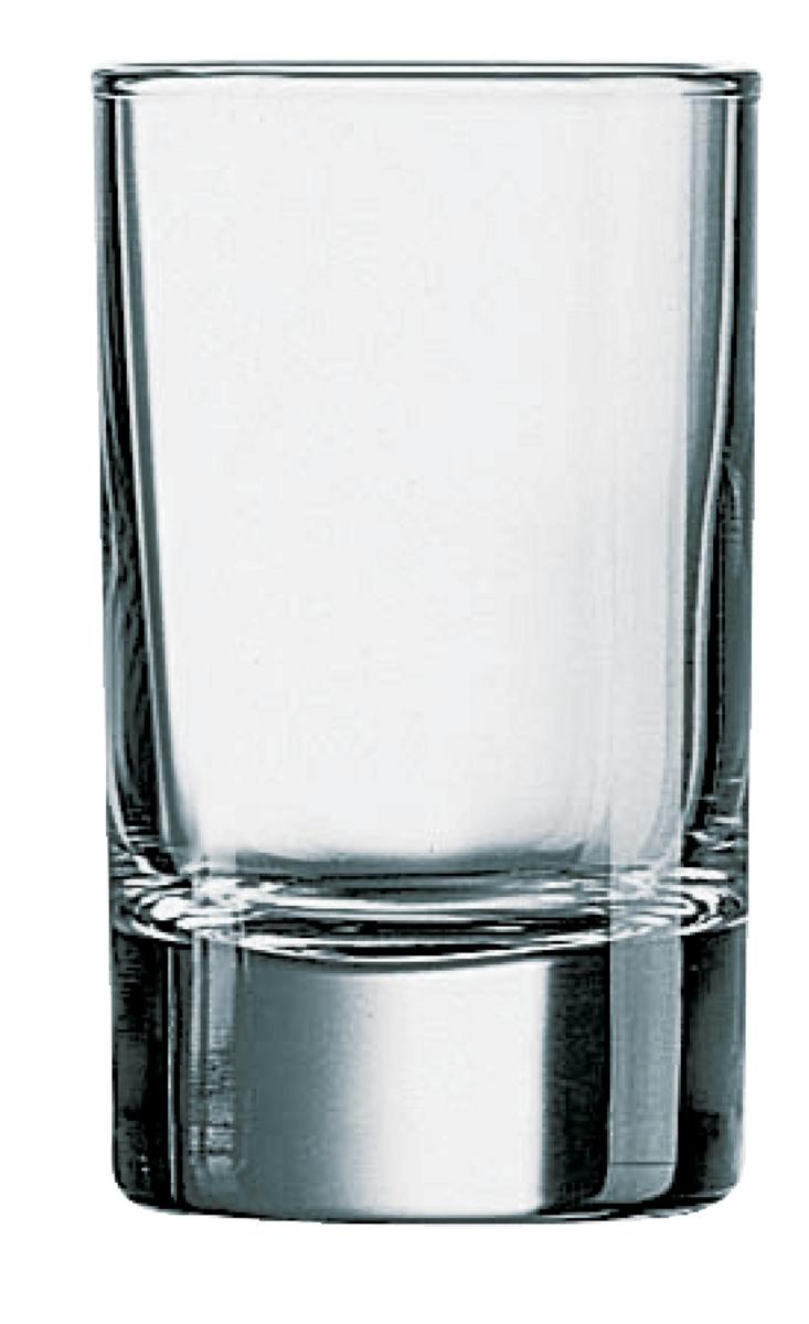 Gobelet rond transparent verre 10 cl Ø 5,10 cm Islande Arcoroc