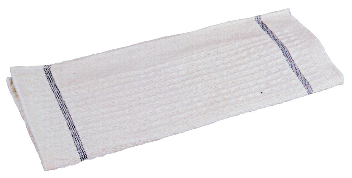 Lot de 10 lavettes coton blanc 30x70 cm (10 pièces)