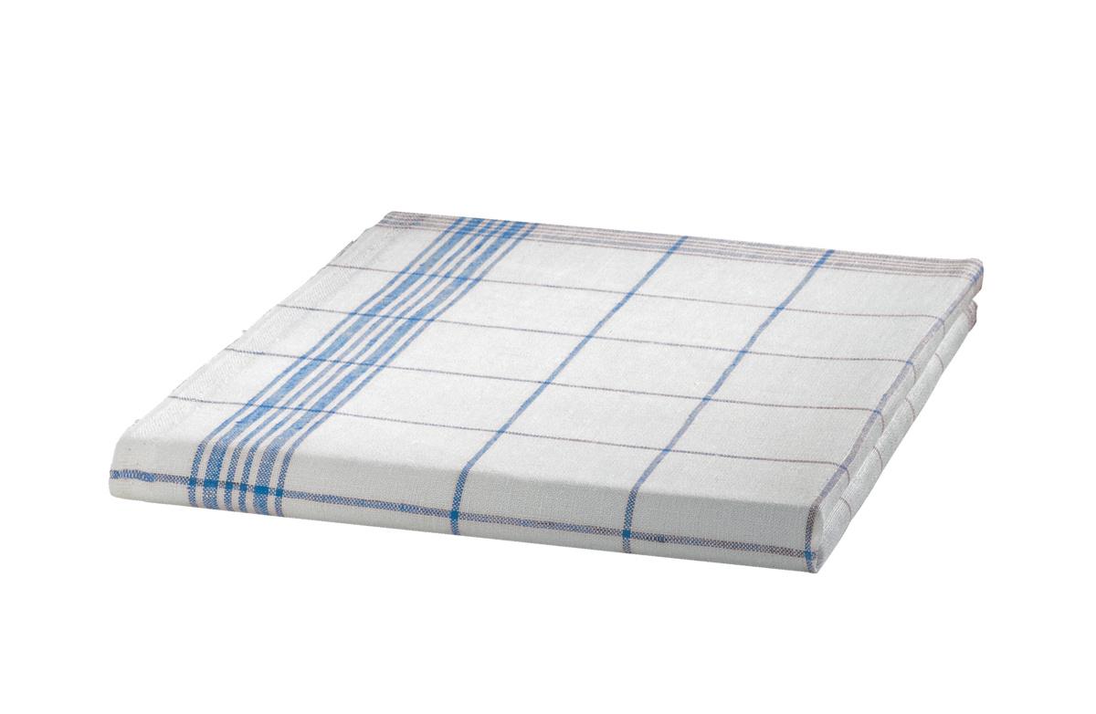 Essuie verre blanc tissu 50x77 cm (6 pièces)