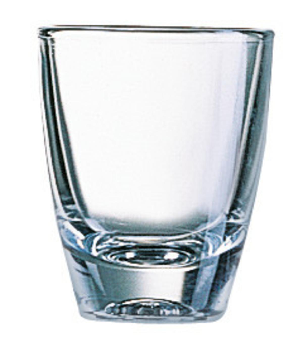 Verrine ronde transparente verre 3 cl Ø 4,20 cm Gin Arcoroc