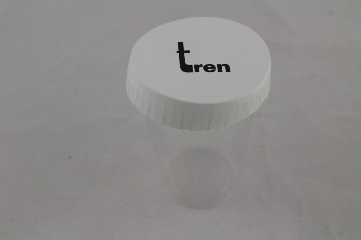 Couvercle blanc carton Ø 6,90 cm Tren (1000 pièces)