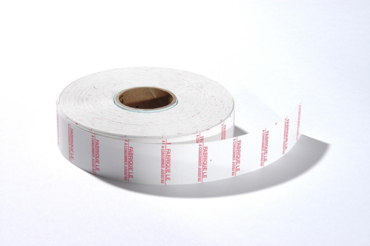 étiquettes fabriqué/ à consommer papier 1,60x2 cm Avery (14000 pièces)