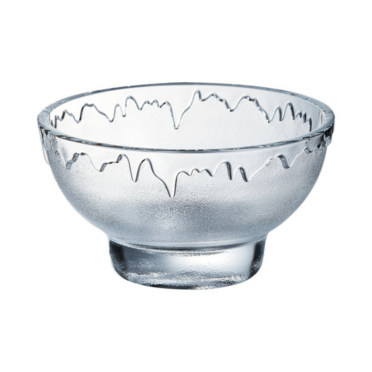 Coupe à dessert ronde transparente verre 20 cl Ø 10,80 cm Pepite Arcoroc