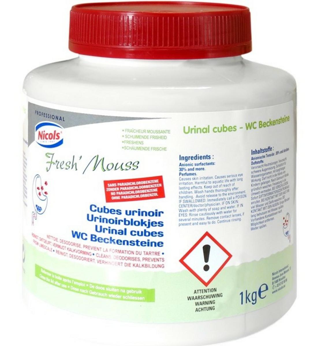 Cube urinoir 40 doses