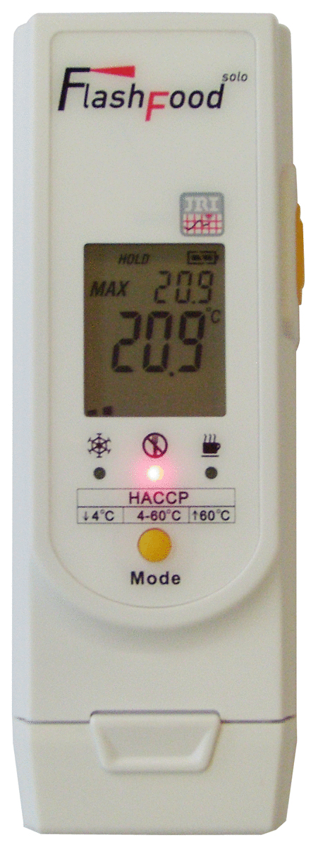 Thermomètre infrarouge -55/350 °C +/-2°C Jri