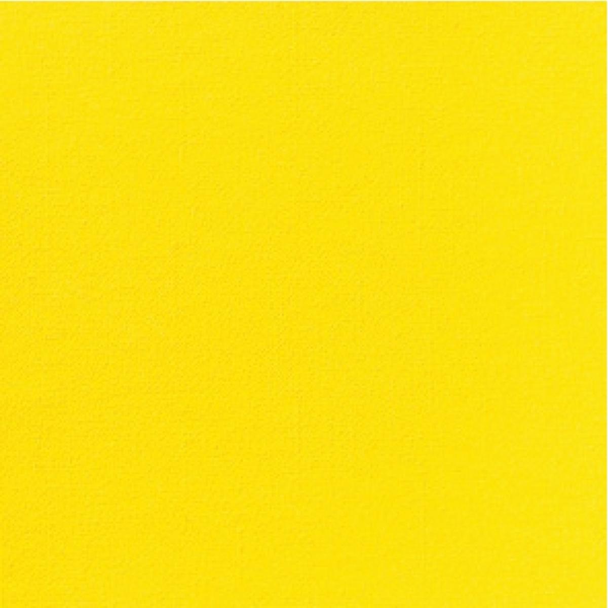 Serviette jaune non tissé 40x40 cm Airlaid Duni (60 pièces)