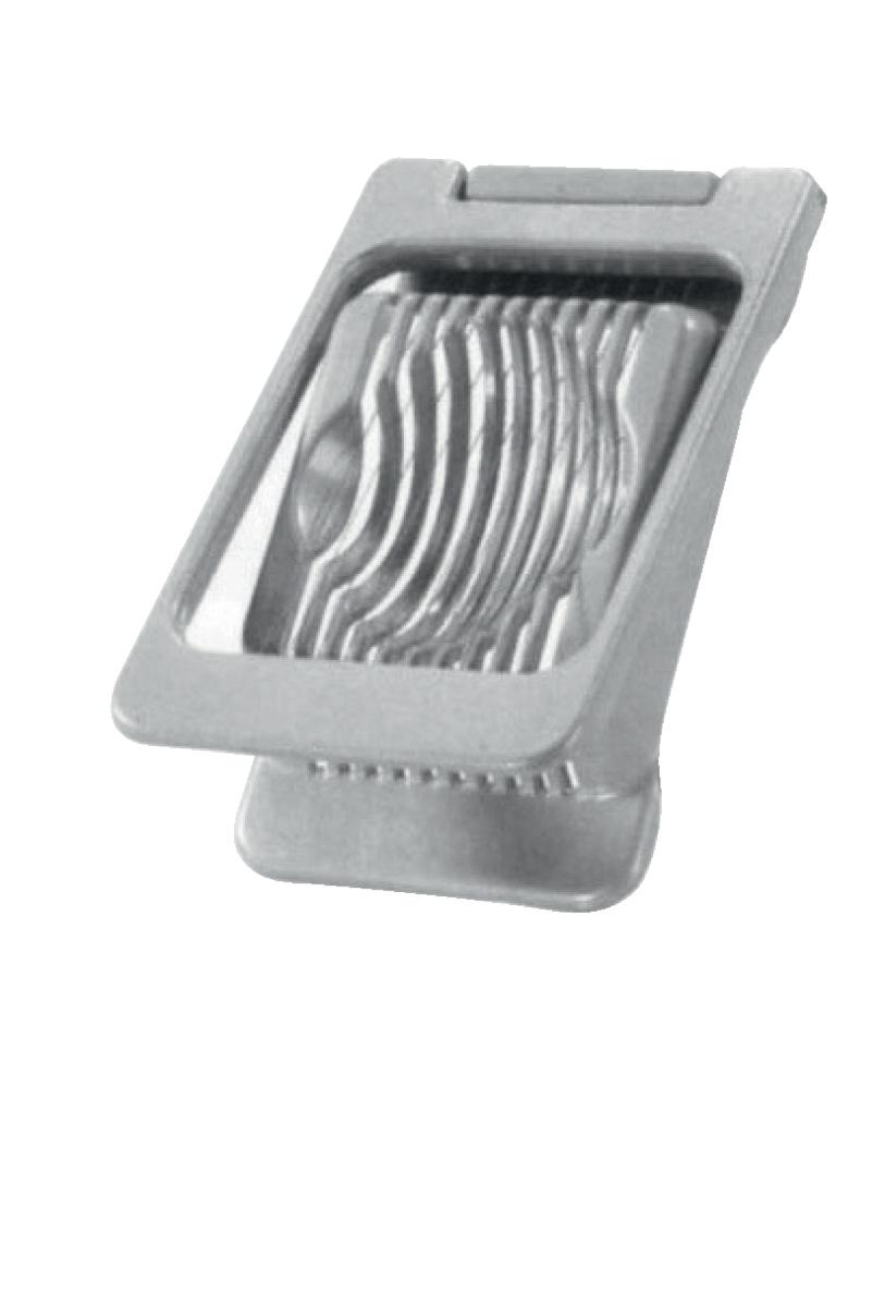 Coupe œuf en rondelles fonte d'aluminium 13,50x8x3,50 cm