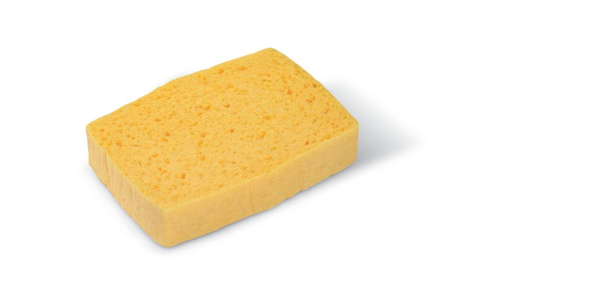 Lot de 10 éponges jaune 10,10x11 cm Spontex (10 pièces)