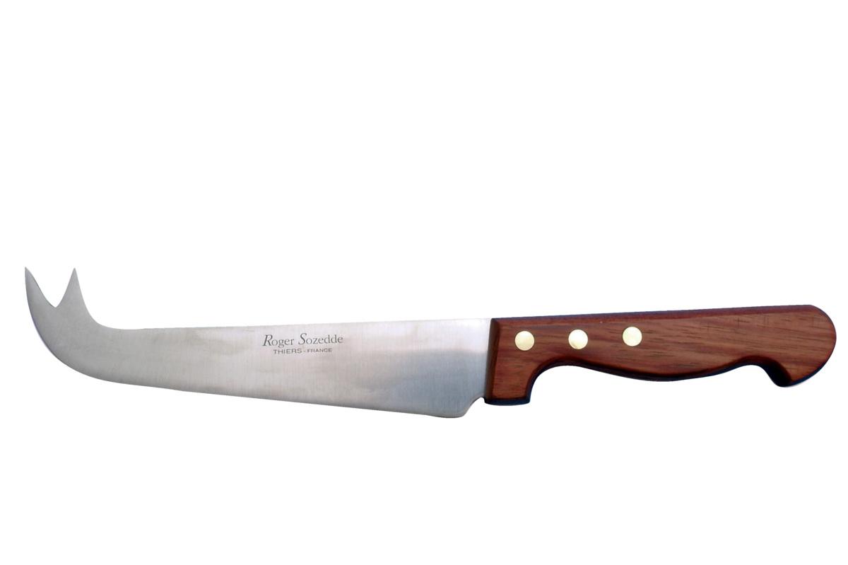 Couteau à fromage brun 17 cm