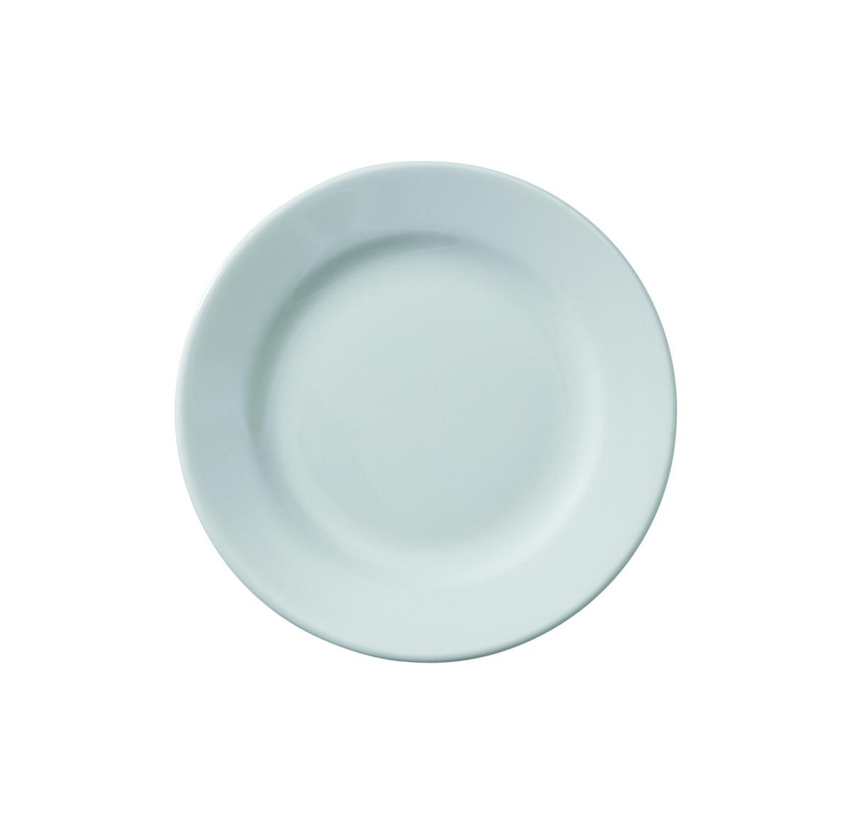 Assiette plate rond ivoire Banquet Rak