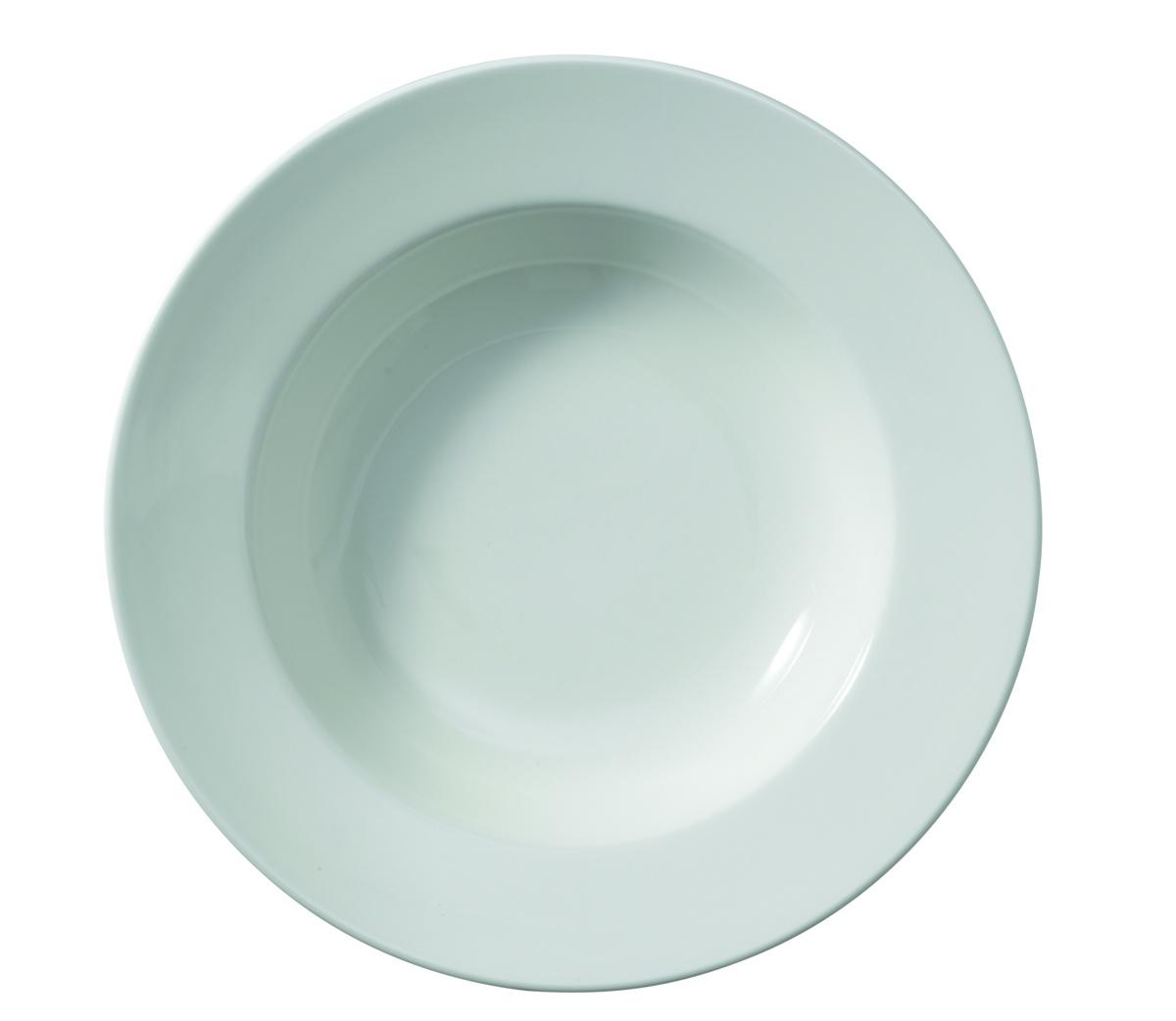 Assiette creuse rond ivoire Banquet Rak