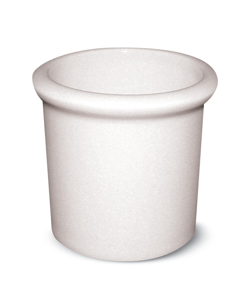 Porte cure dent rectangulaire ivoire porcelaine 7 cl 6 cm Banquet Rak