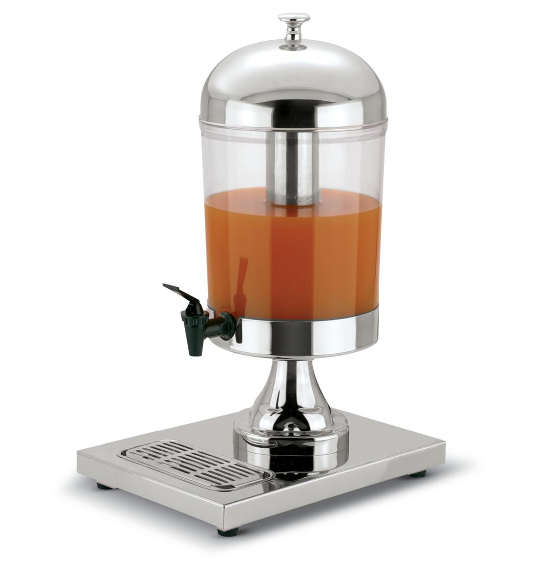 Distributeur à jus gris inox 37 cm