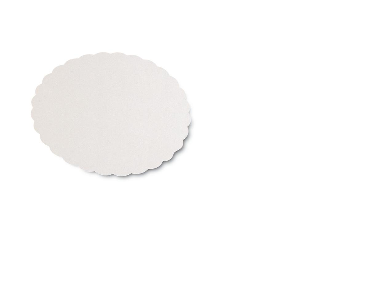 Dessous de tarte rond blanc Ø 32 cm Nordia (250 pièces)