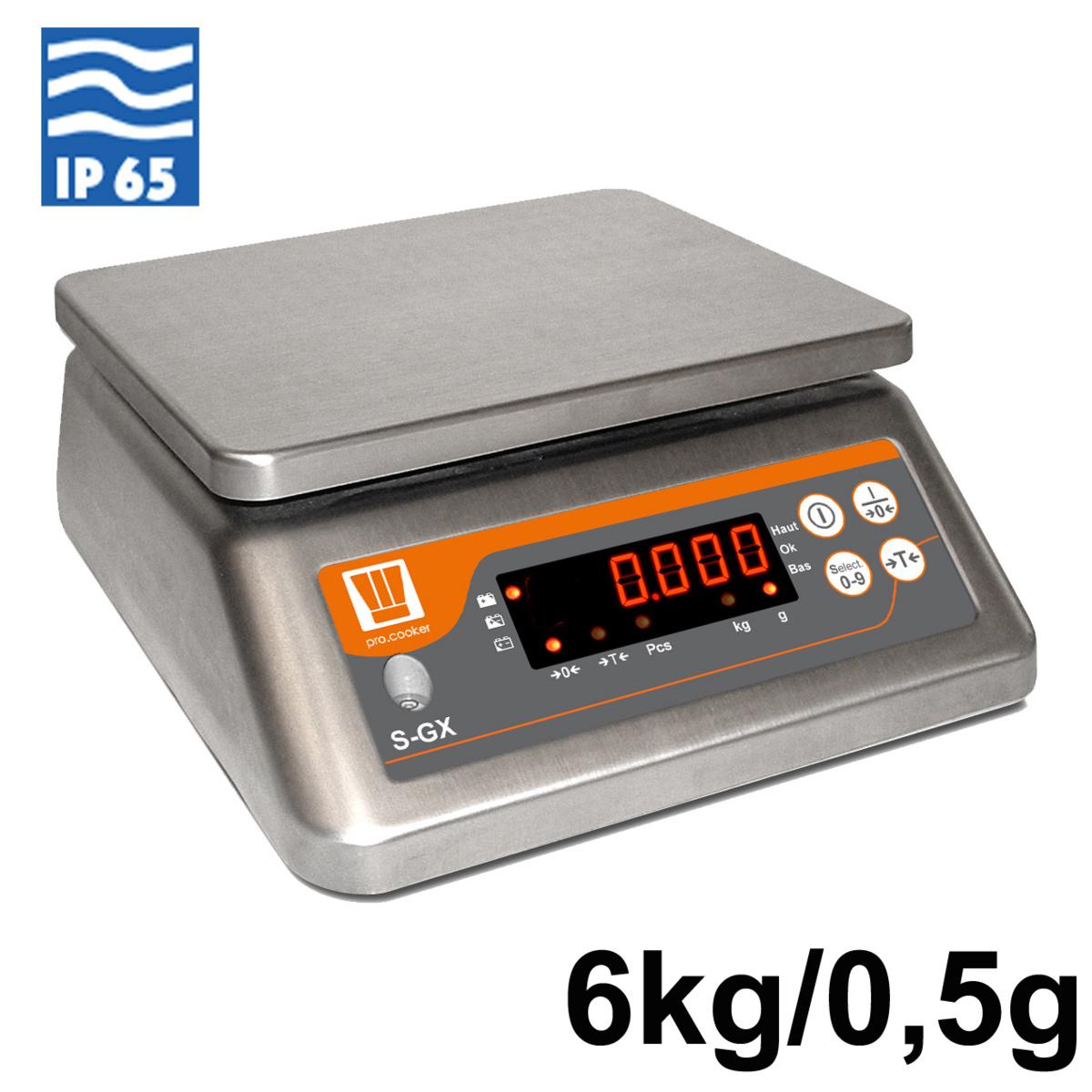 Balance de laboratoire +/-0,50°C 230v Pro.cooker