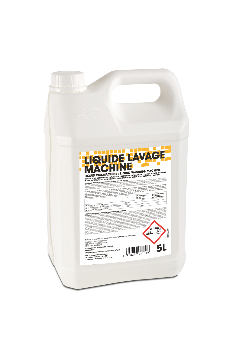 Liquide vaisselle machine 5 l