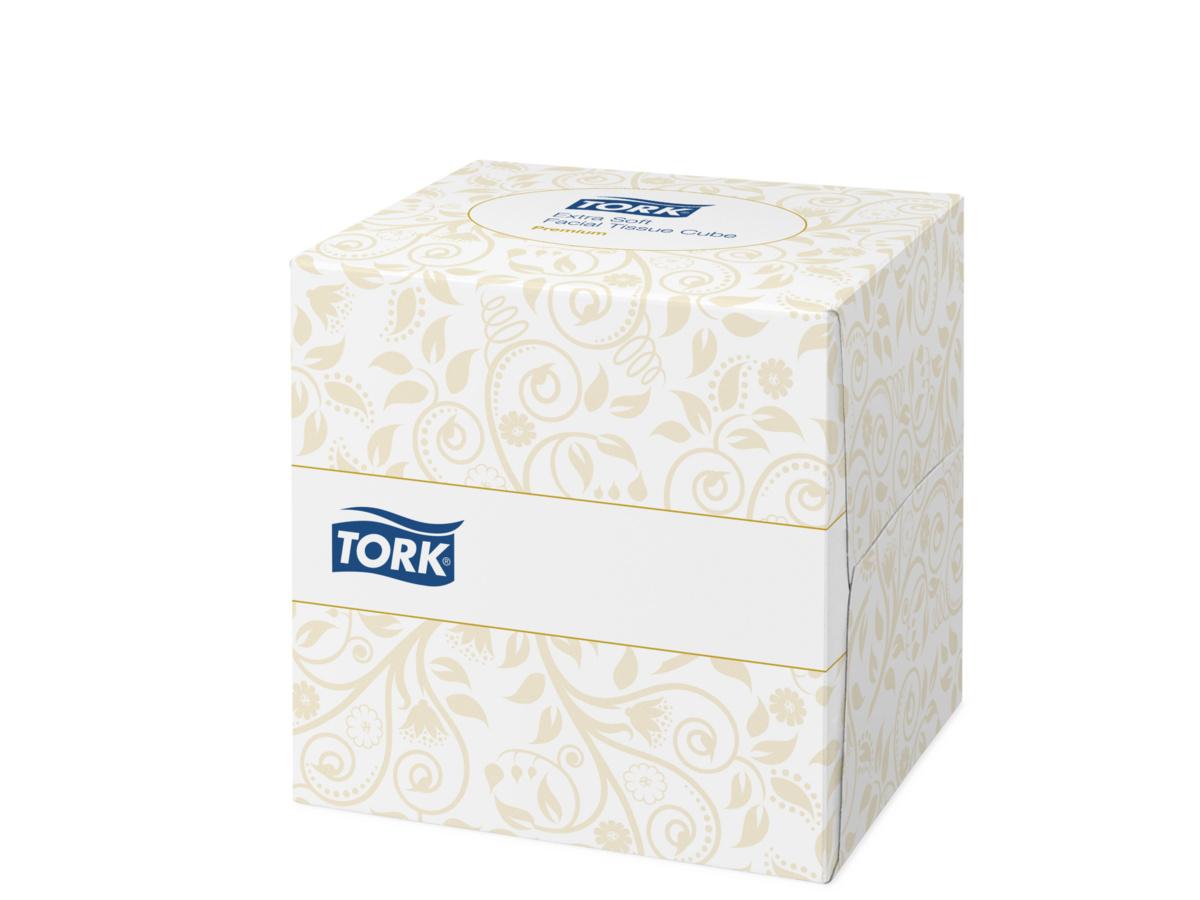 Mouchoirs ouate de cellulose 11x12 cm Tork (100 pièces)