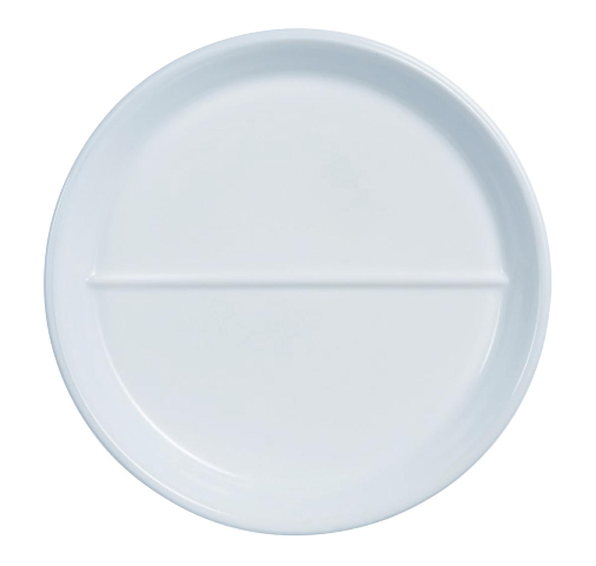 Assiette creuse ronde blanc verre Ø 23 cm Heat System Arcoroc