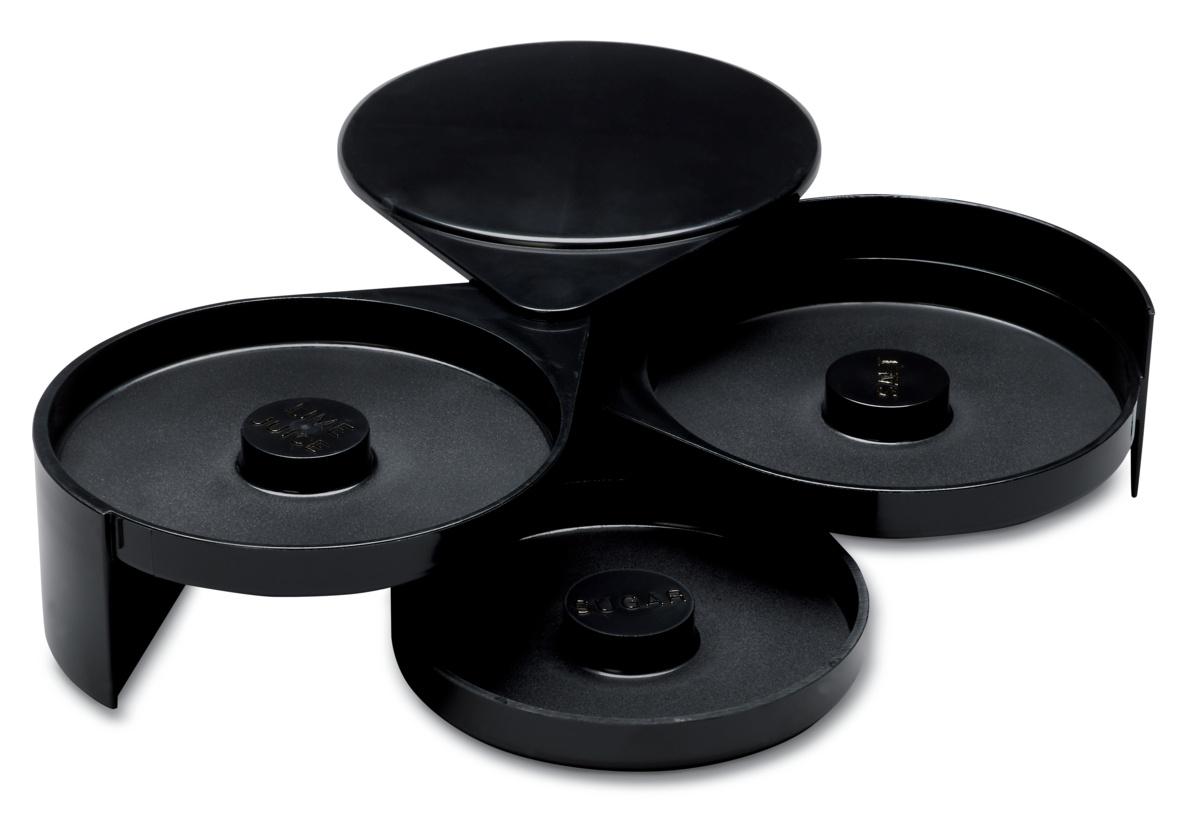 Nécessaire à givrer 3 niveaux noir Ø 15,50 cm Pro.mundi