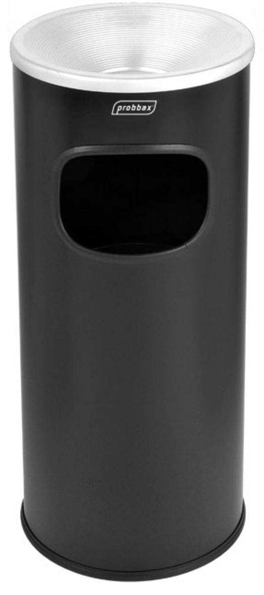 Borne cendrier noire 25x25 cm Probbax