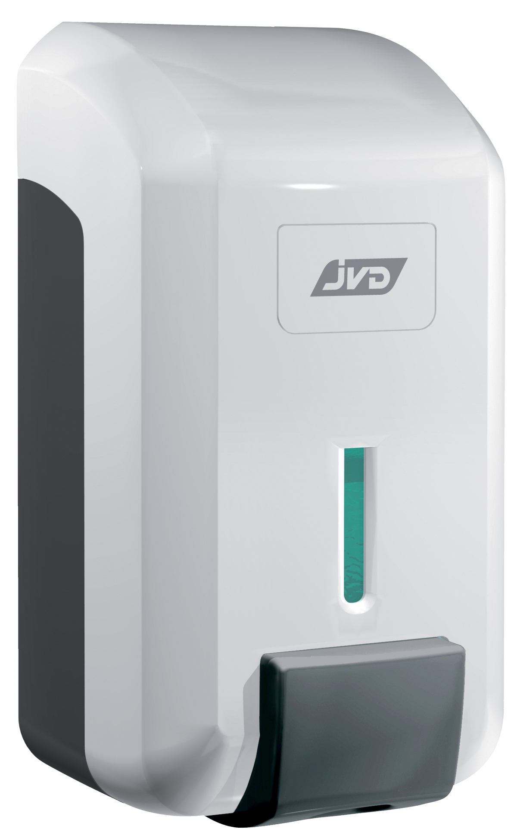 Distributeur de savon blanc 11,5 cm Jvd