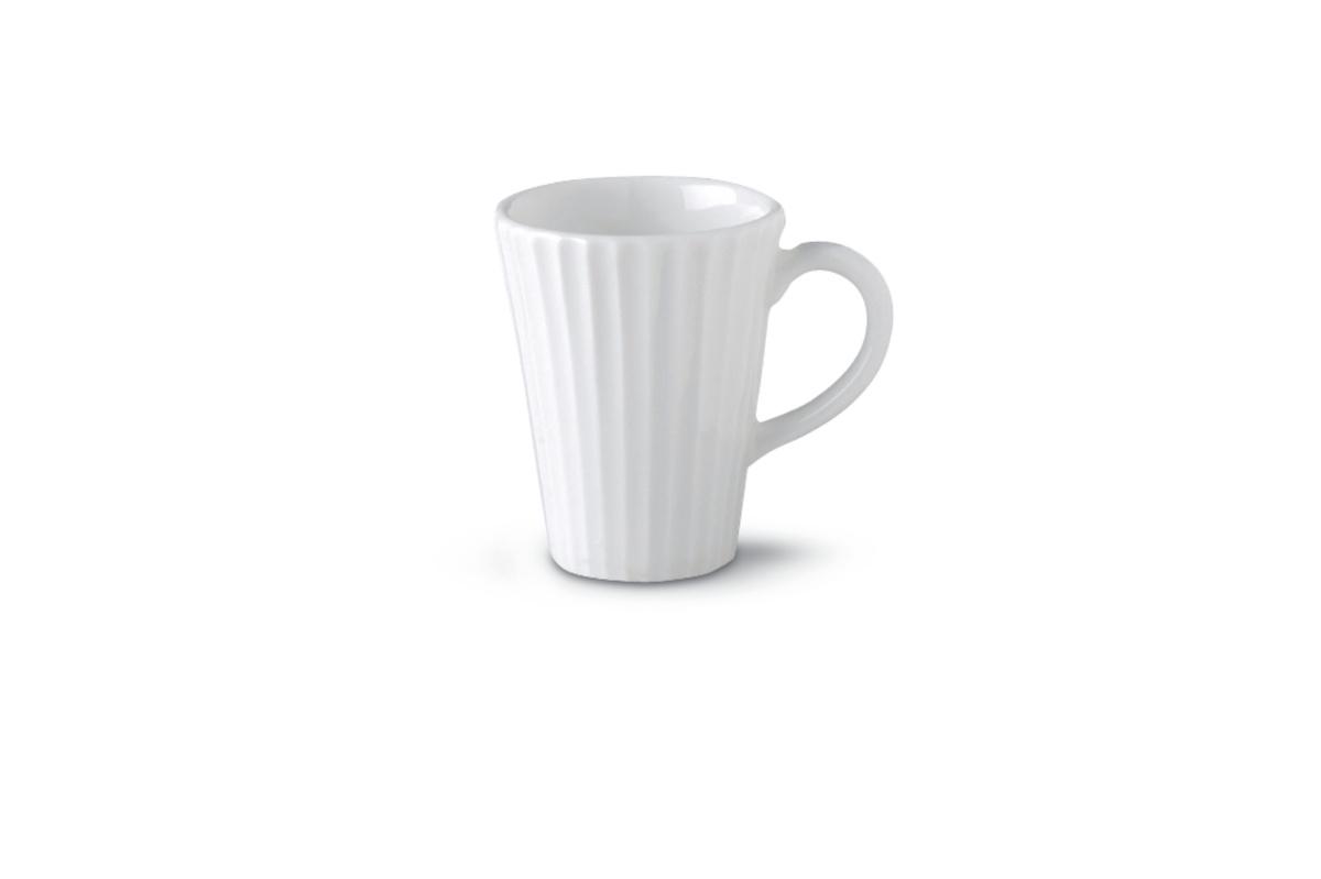Tasse à thé ronde ivoire porcelaine 20 cl Ø 7,50 cm Metropolis Rak