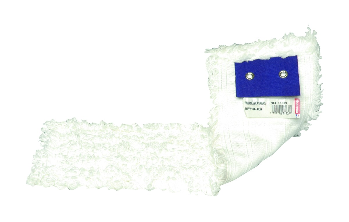 Frange de lavage microfibre blanc 44 cm Brosserie Thomas