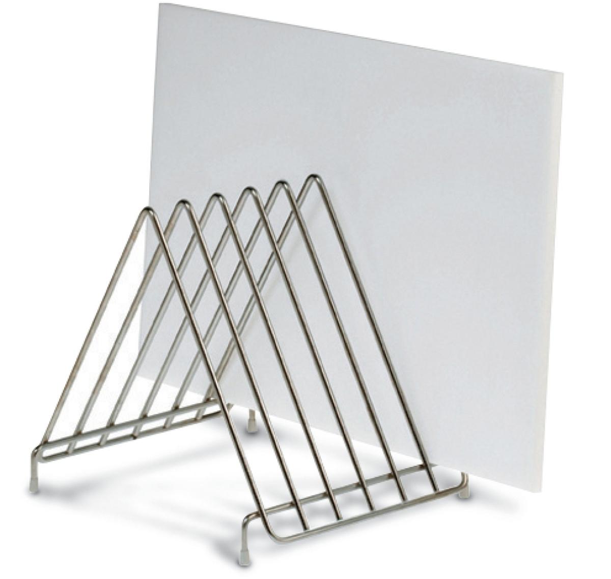 Range planches à découper inox 34x26,50x28 cm