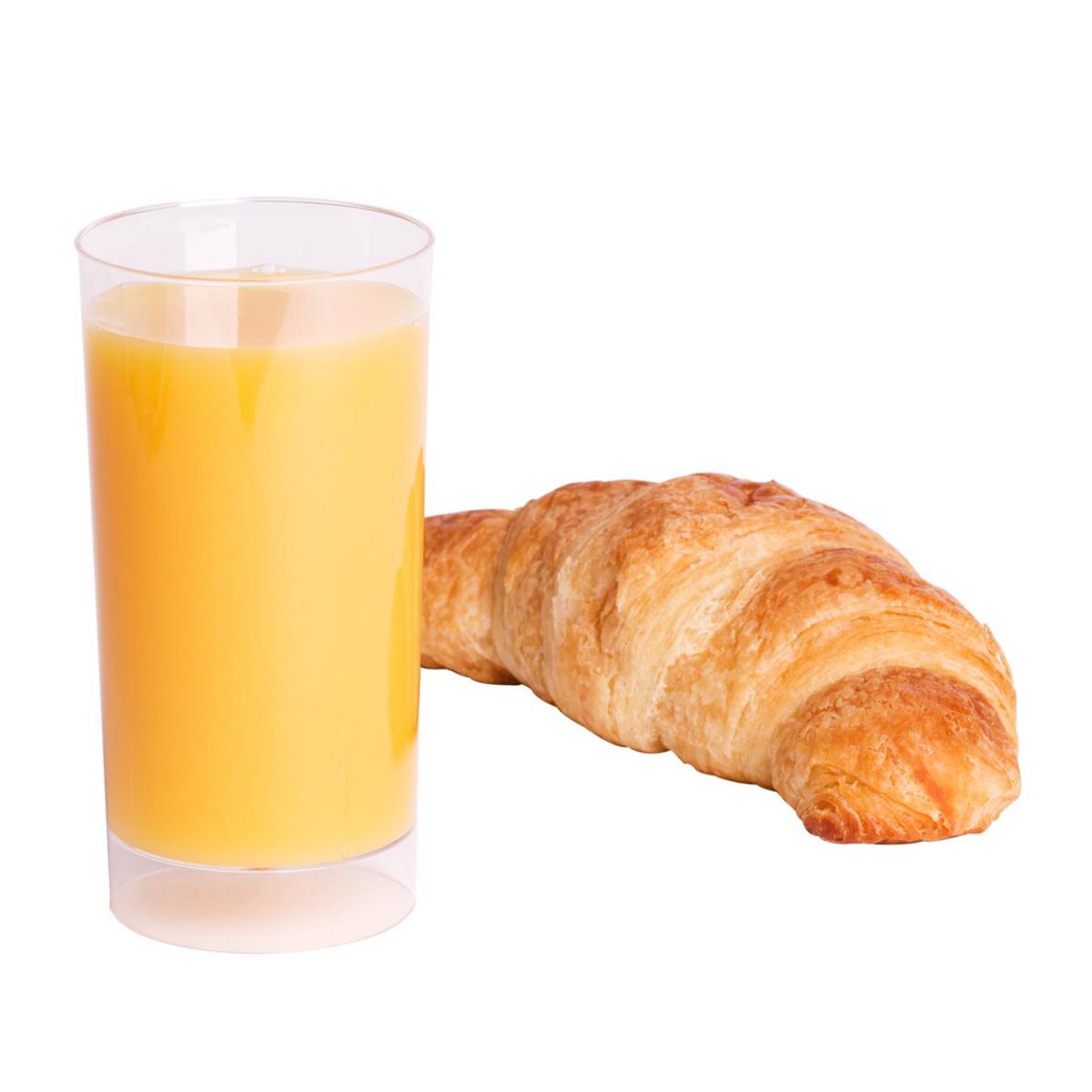 Verre long drink transparent plastique 20 cl Useo (10 pièces)