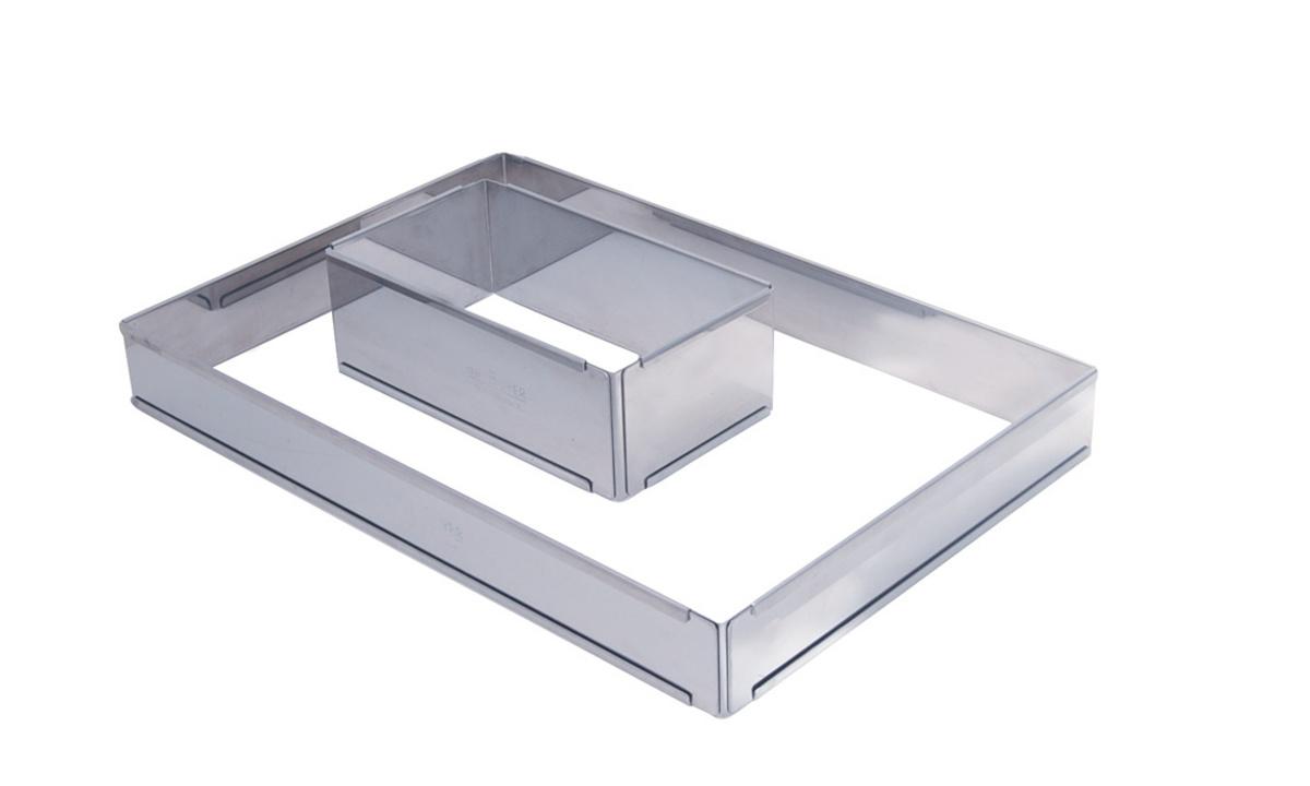 Cadre opéra extensible inox 11,50x21,50 cm De Buyer