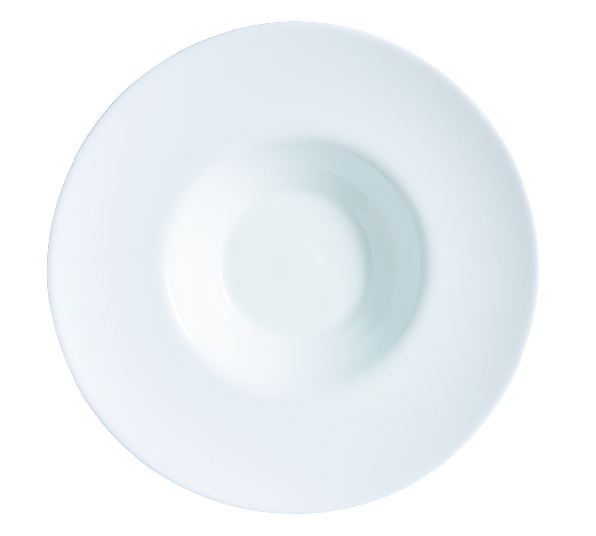 Assiette à risotto ronde ivoire verre Ø 29 cm Intensity Arcoroc