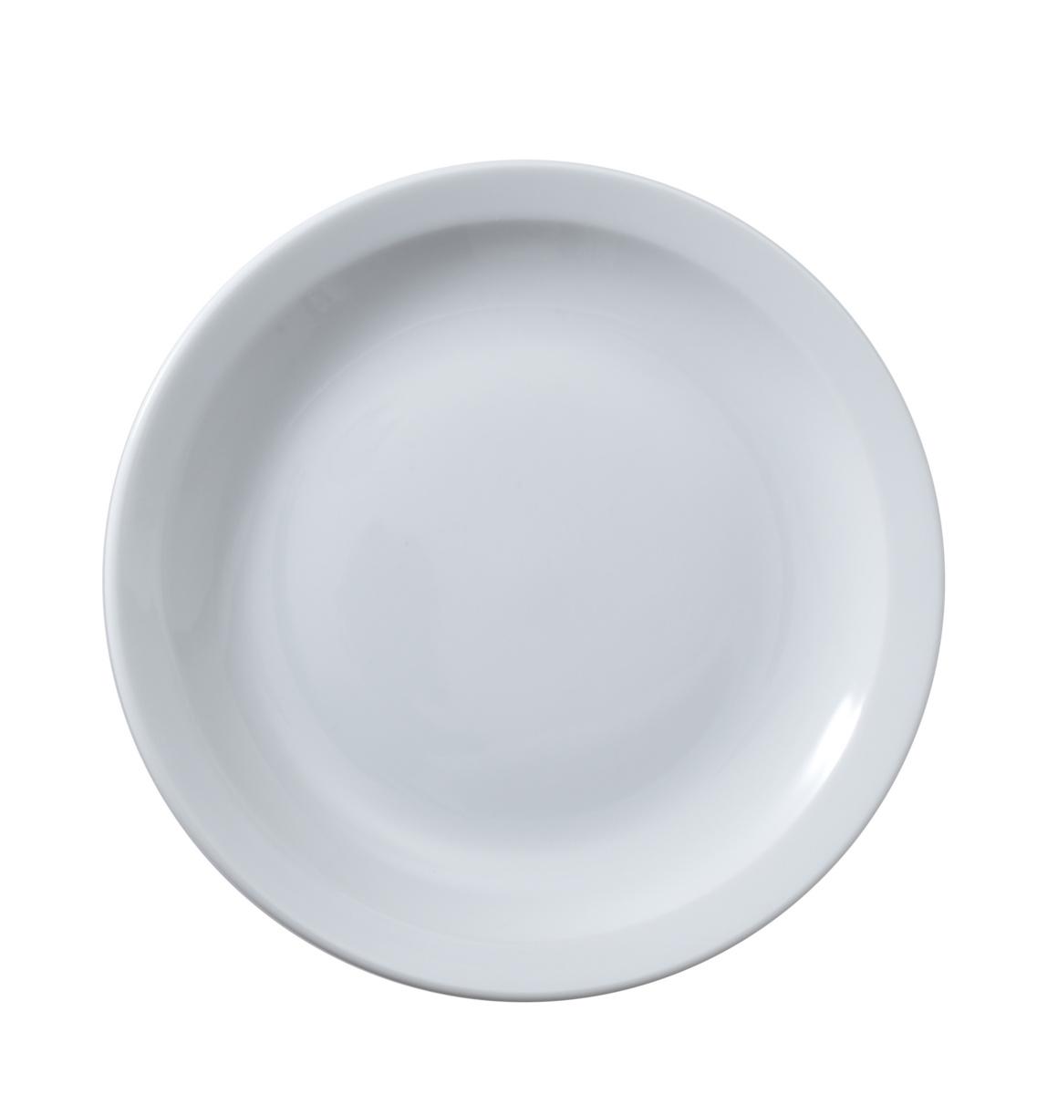 Assiette plate rond blanc Optima Vaisselle