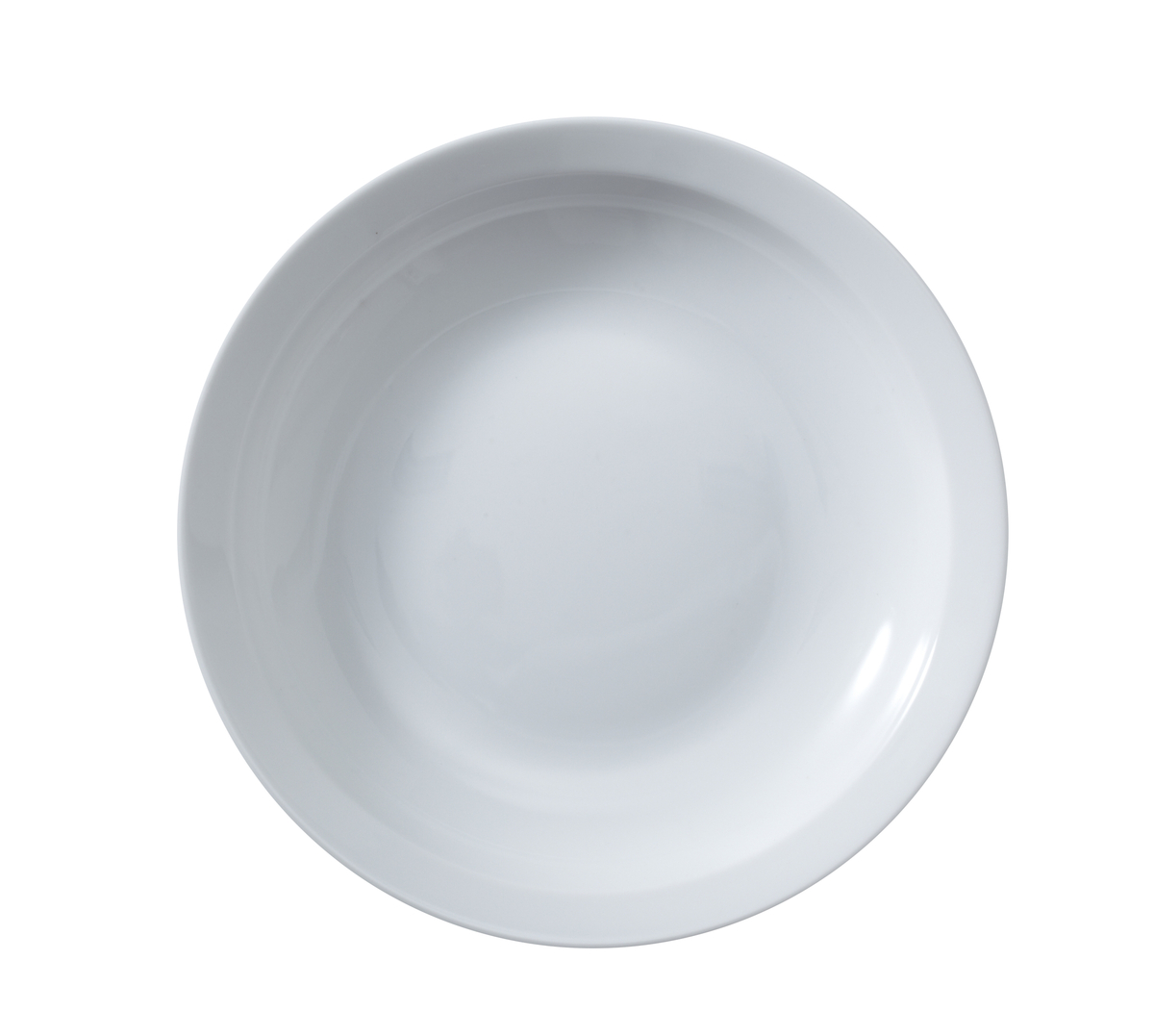 Assiette creuse rond blanc Optima Vaisselle
