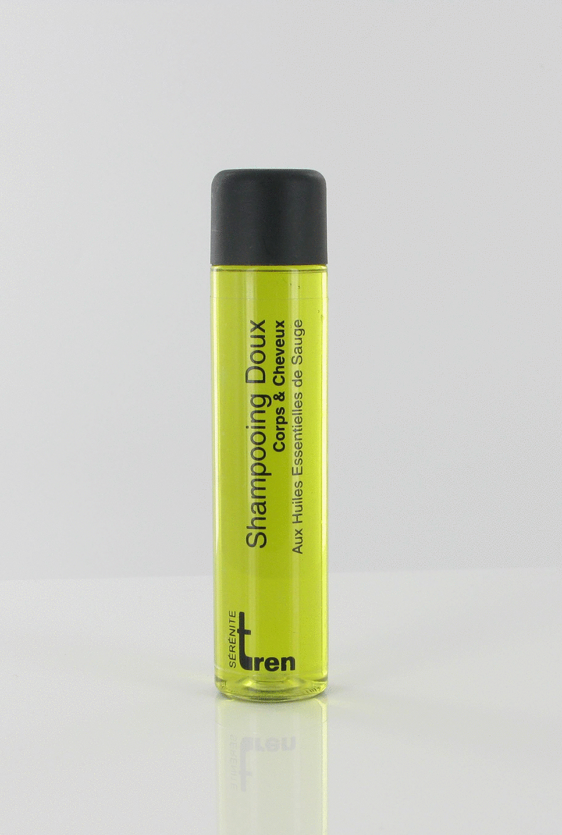 Carton 300 shampoings 30 cl Tren Serenite Tren (300 pièces)