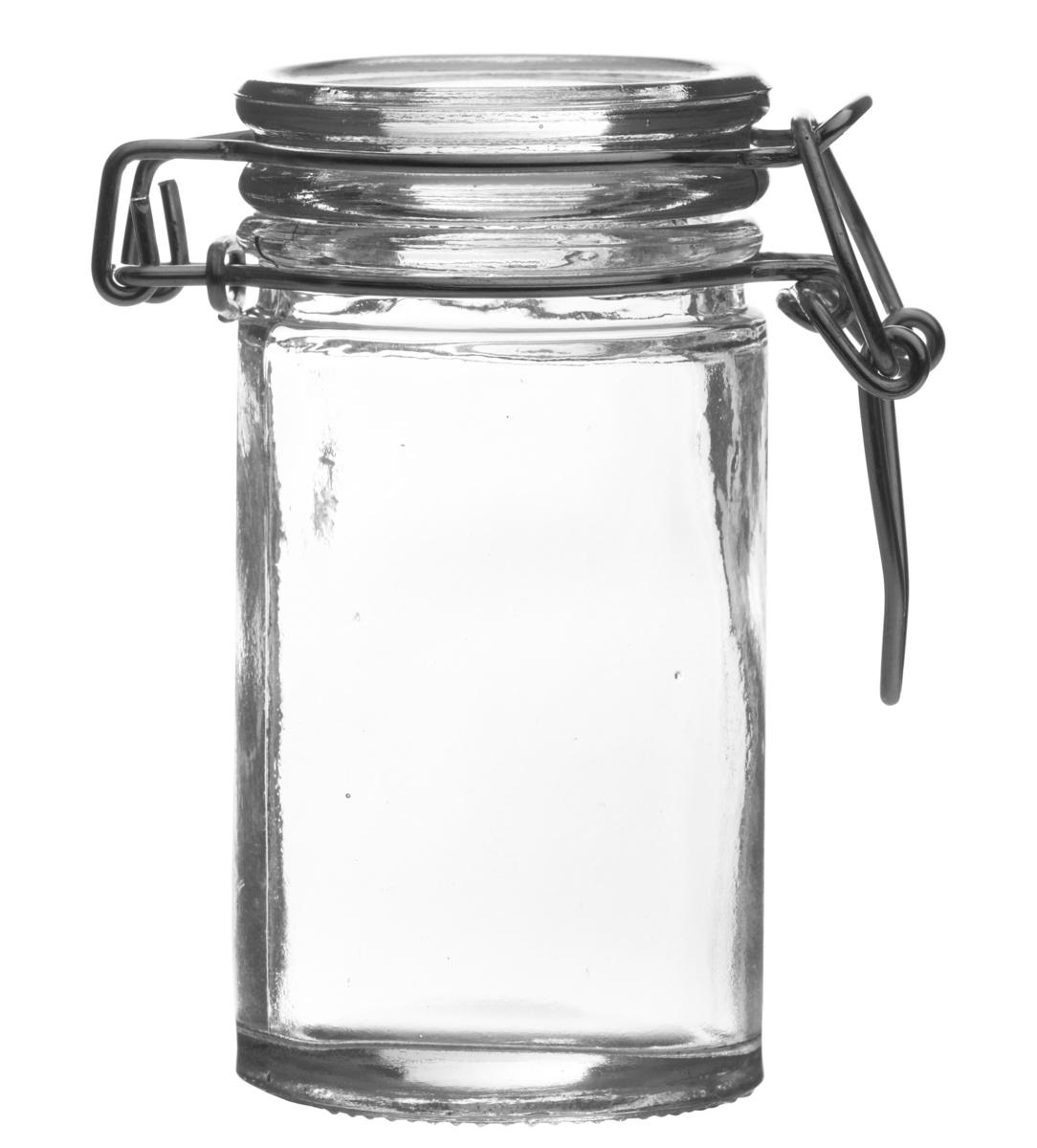 Mise en bouche ronde transparente verre Ø 4,50 cm