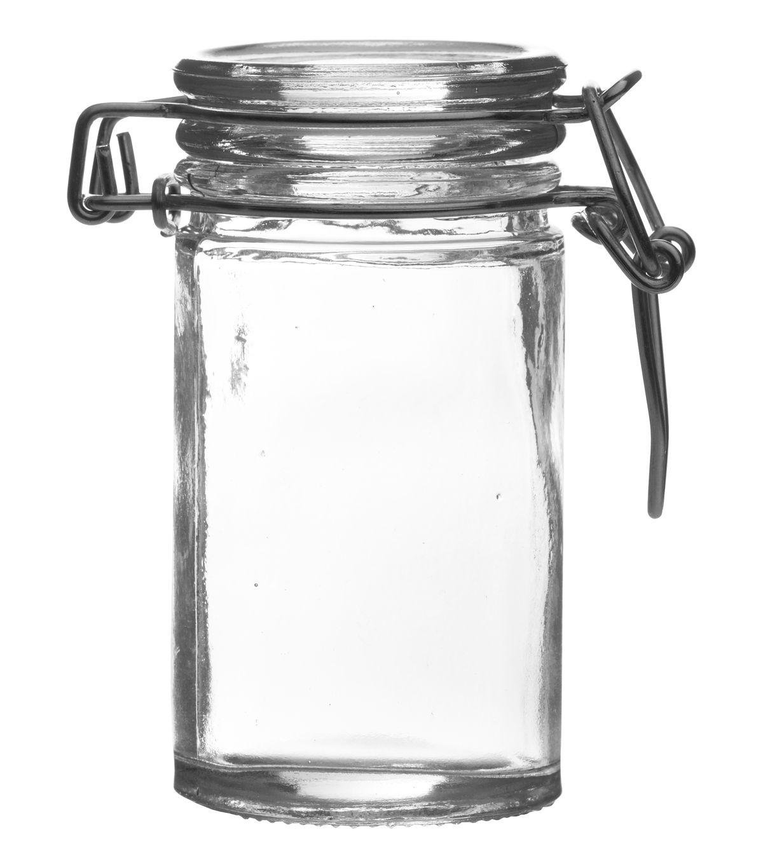 Verrine hermétique droite transparente verre