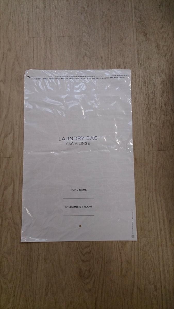 Carton 1000 sacs à linge plastique 40x60 cm Tren (1000 pièces)