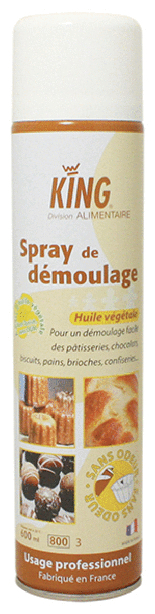 Spray démoulage 800 ml