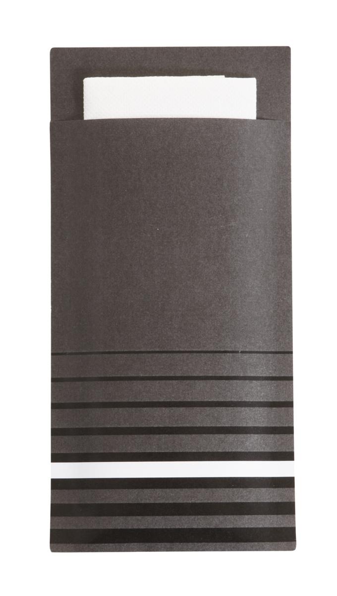 Pochette gris ouate de cellulose 20x10 cm Isi Pro.mundi (200 pièces)