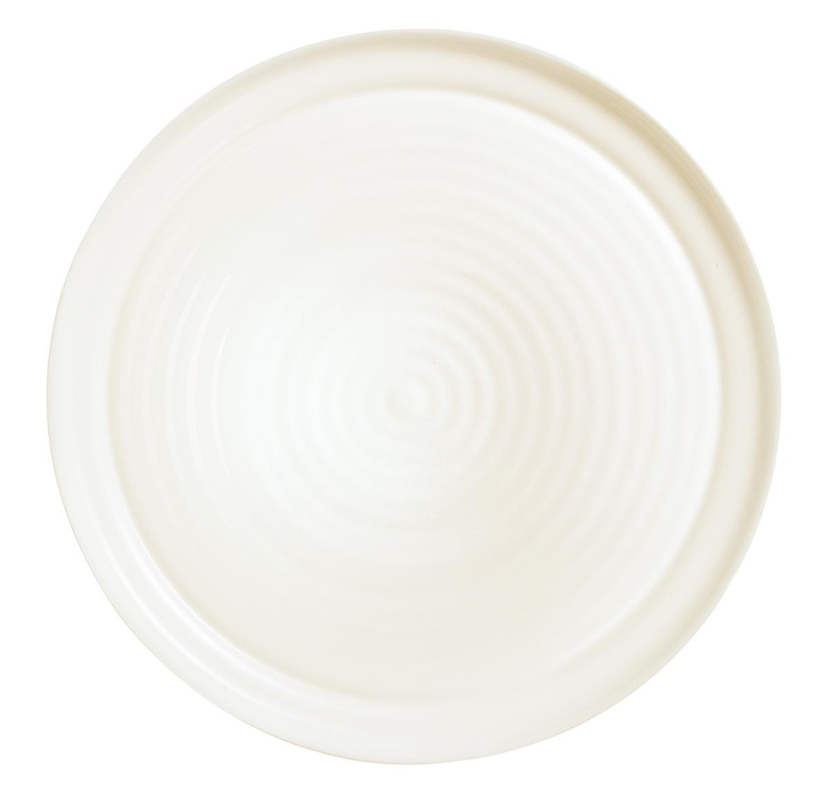 Assiette à pizza ronde ivoire verre Ø 32 cm Intensity Arcoroc