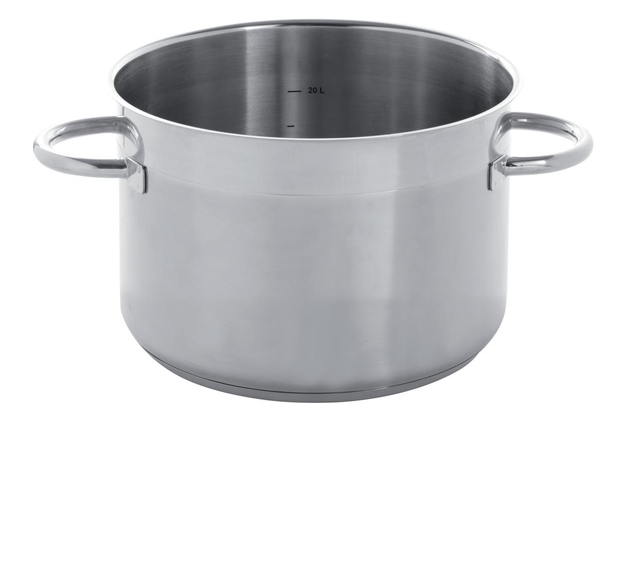 Braisière inox Ø 40 cm 31,40 l Qualiplus Pro.cooker