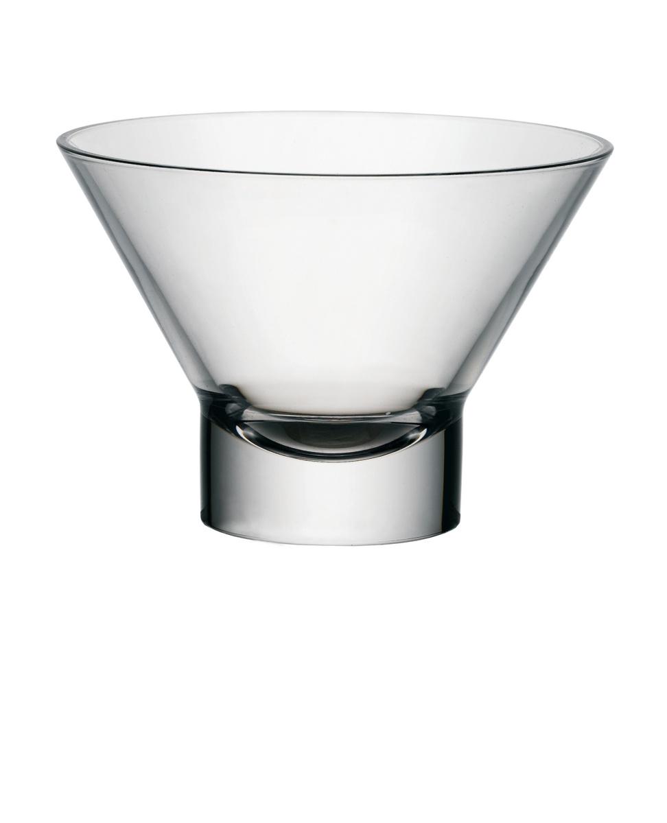 Coupe à dessert ronde transparente verre 37,50 cl Ø 13 cm Ypsilon Bormioli Rocco